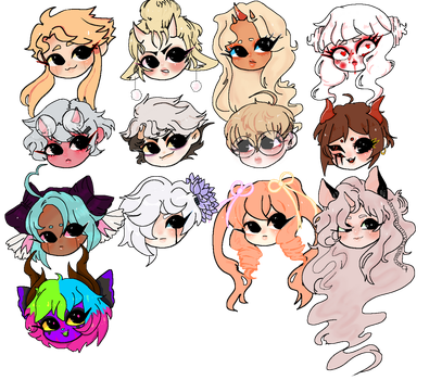 CHEEB Head Batch by 00NGE