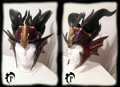 Fall forest dragon crown by Feral-Workshop