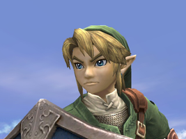 Link-Close Up by SmashBros2008