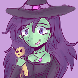 Witch Wip by Kittipaws
