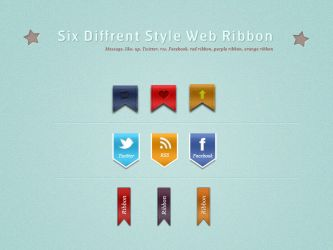 Stylish Web Ribbon by SuTegin