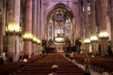 Palma Cathedral by kalkfell