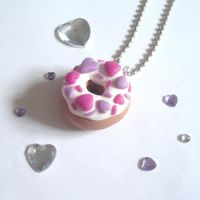 Lovely Donuts Necklace by AndyGlamasaurus