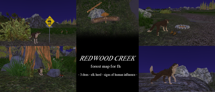 [F2U FH Map] Redwood Creek by hostile-elf