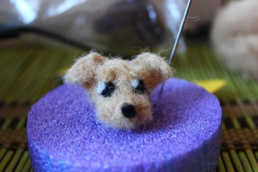 Another Felted Dog by Remember2fly1