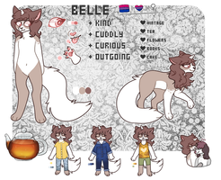 Belle Ref 2017 by dracomewqem