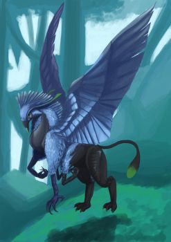 Avatar Griffin by DynastyCoco