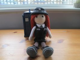 Doctor Who: Amy Pond Crochet Doll by fourthimbles