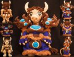 Tauren Shaman - World Of Warcraft by Blodwedden