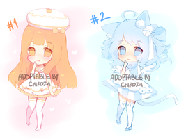 ADOPTABLES BATCH ll : (CLOSED) by ChiRozu