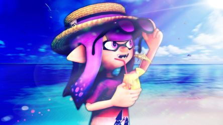 Summer Time by VioletInkling