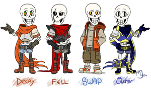 Underdecay- Decay Papyrus version by Little-Noko
