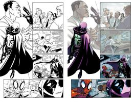 Spidey and the Prowler (sample) by herms85