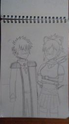 Ivan and Asuka by dragonsouloverlord5