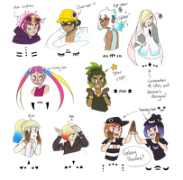 [MMD] Pokemon- Matryoshka models concept (UPDATE) by Gameaddict1234