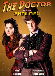 The Doctor n Clara: Xmas Poster by caysipena