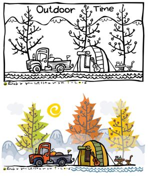 Outdoor clipart illustration by Bobbart