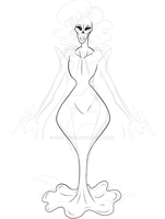 Undertale OC WIP by SugahFox