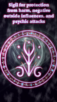 Sigil for protection by WolfOfAntimony
