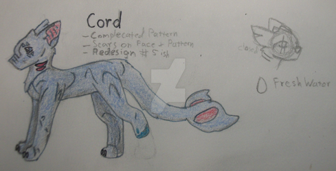 Cord (Small Ref.) by DragonCatSongArt