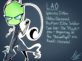 Invader Zim OC - Lao by MoonlightWolf17