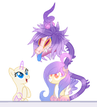 OPEN COLLAB   your oc loving Comet by baep-sae