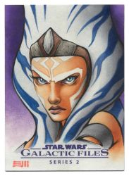 Ahsoka Tano Artist Proof Sketch Card by Erik-Maell
