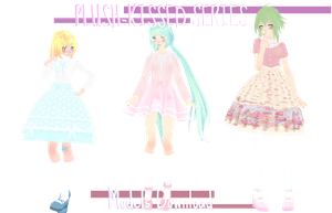 PLUSH-KISSED SERIES  ||  Models Download! by thos-beans