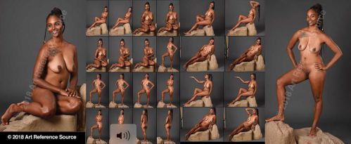 Stock:  Latoschia 24 standing and seated nudes by ArtReferenceSource