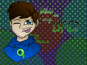 What is my LIFE? Jacksepticeye IN COLOR by DemondIIQ