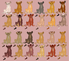 (6 LEFT!!!)  24 Batch ADOPTABLES by Ersalaa