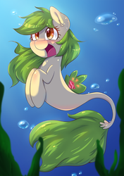 When GreenCracker is Seapony by tikrs007
