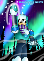 Polar Man Charging Up by SnowmanEX711