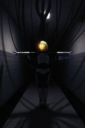GLaDOS: Welcome to the Enrichment Center by ember-ablaze