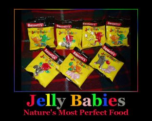 Jelly Baby Poster by Carthoris