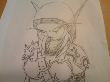 Chibi Sylanas Windrunner by YourChoice1980