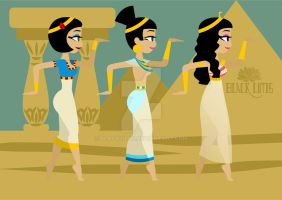 Walk Like an Egyptian 1 by BlackLutis