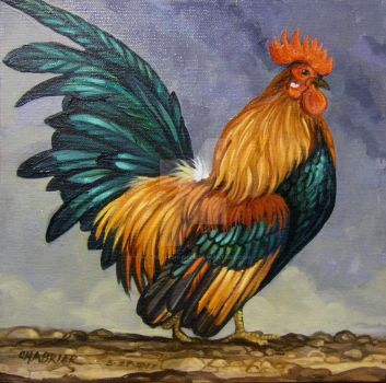 Serama Rooster 1 Reworked by HouseofChabrier