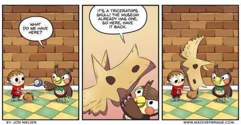 Animal Crossing - A Museum in your Pocket by EnciferART
