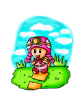 Toadette the explorer by ninpeachlover