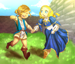 Botw Zelink Kiddies by YoMo715