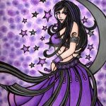 Violet Gothic Moon
