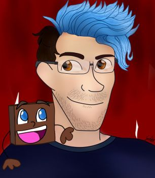 Mark and Tiny Box Tim by snowflake12298