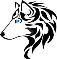 Wolf Head Tatoo