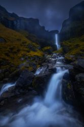 iceland waterfall by roblfc1892