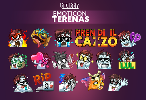 Twitch emoticon - Terenas by CKibe