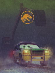 Jurassic Cars Variant Colour by TheFishCakes