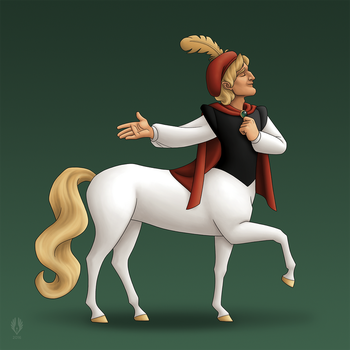 Prince on a White Horse by yoctoparsec