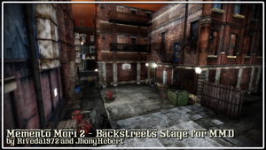 [MMD] Memento Mori - Backstreets stage (Download) by Riveda1972