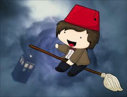 OMG HES WEARING A FEZ by KTechnicolour